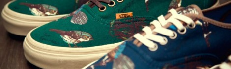 "f11a366e22 Vans California ""Birds"" Authentic CA Pack Fall Winter 2012"