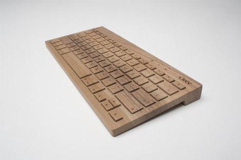 Orée Wooden Keyboard